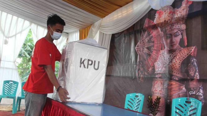 Ilustrasi kesiapan TPS Jelang Pilkada Depok