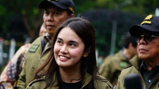 Farah Puteri Nahlia anak Kapolda Metro Jaya Irjen Fadil Imran
