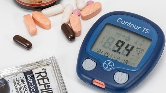 Cek kadar gula darah..