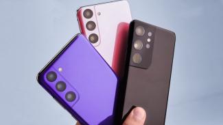 Bocoran ponsel Samsung Galaxy S21.