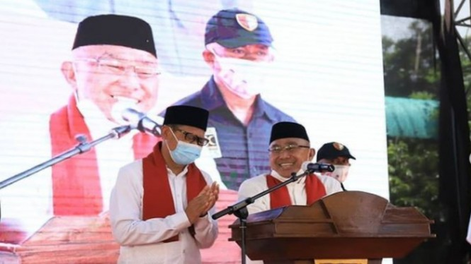 wali kota dan wakil kota Depok terpilih, Mohammad Idris-Imam Budi Hartono