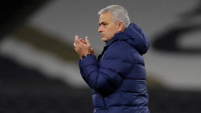 Jose Mourinho saat masih menjadi manajer Tottenham Hotspur.