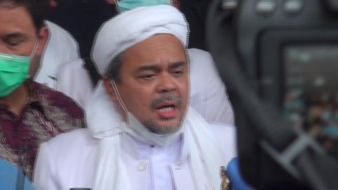 Habib Rizieq di Polda Metro