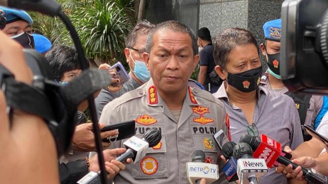 Kepala Bidang Hubungan Masyarakat Polda Metro Jaya Kombes Pol Yusri Yunus