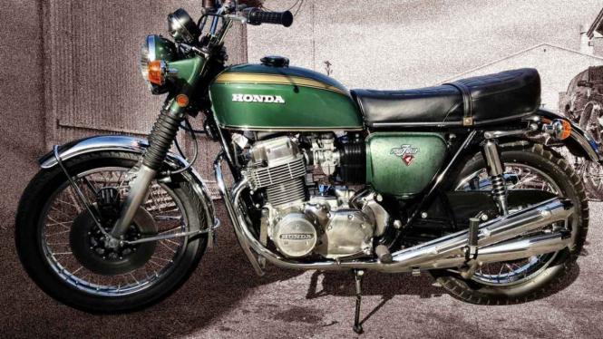 Ilustrasi motor Honda