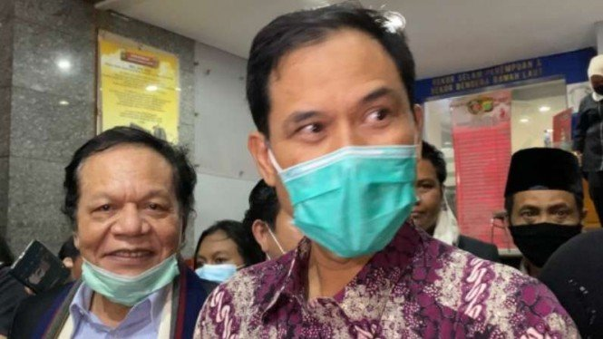 Eks Sekretaris Umum FPI, Munarman.