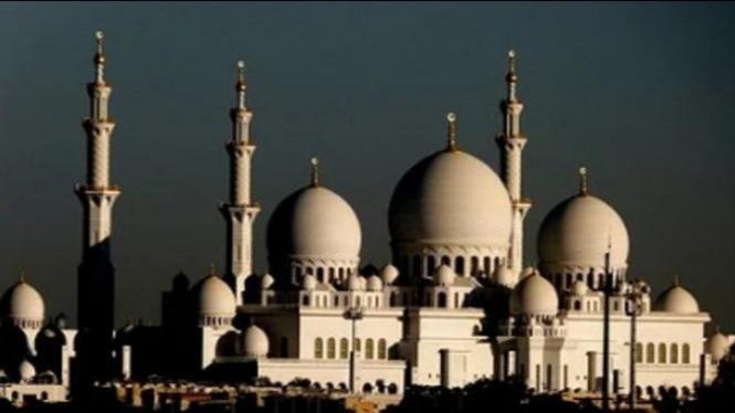 Ilustrasi masjid tembat berdoa orang muslim (pixabay)