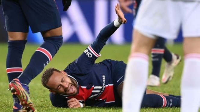 Bintang Paris Saint Germain, Neymar, cedera