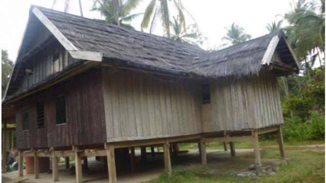 Masjid Langgar yang dijadikan sebagai Cagar Budaya