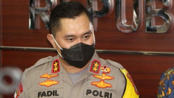 Kapolda Metro Jaya irjen Pol Fadil Imran.