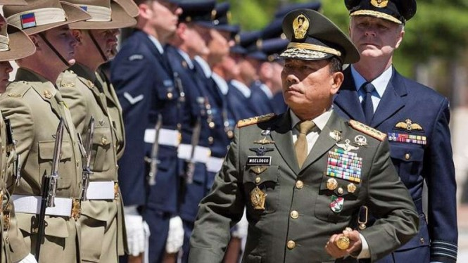 VIVA Militer: Jenderal TNI Moeldoko saat menjadi Panglima TNI
