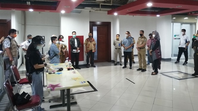 Simulasi penyelenggaraan Indonesia Basketball League (IBL).