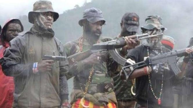 Kelompok Kriminal Separatis Bersenjata (KKSB) Papua.