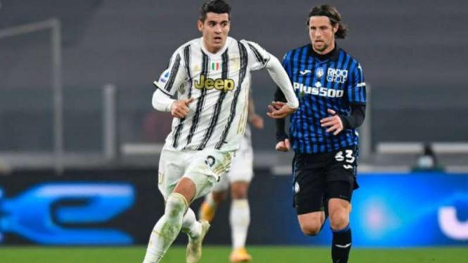 Duel Juventus vs Atalanta.