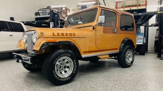 Mobil bekas legendaris, Jeep CJ7