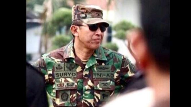 VIVA Militer: Johannes Suryo Prabowo saat berpangkat Brigjen TNI