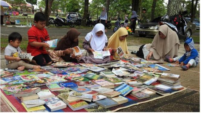 Penyediaan Buku Bacaan