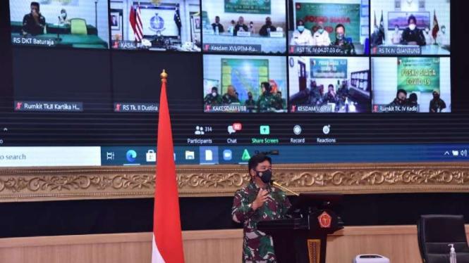 VIVA Militer: Panglima TNI buka acara TOT Vaksinasi COVID-19 di lingkungan TNI