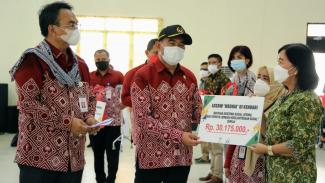 Muhadjir Effendy berikan bantuan pada Puncak Peringatan HKSN