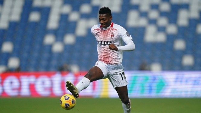 Striker AC Milan, Rafael Leao.
