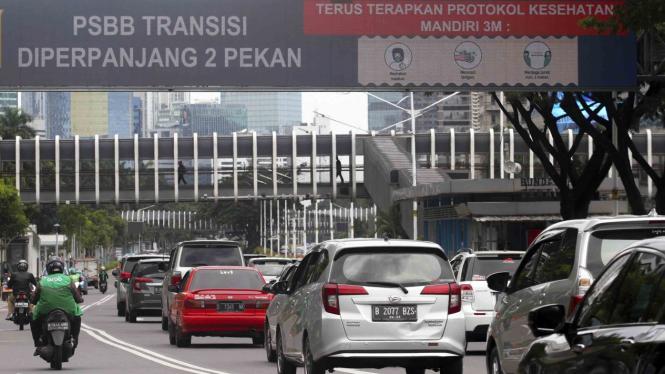 PSBB Masa Transisi di Jakarta