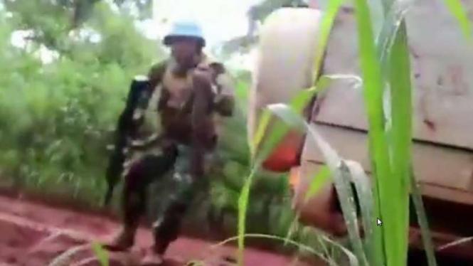 VIVA Militer: Pasukan Satgas TNI Konga MONUSCO ditembaki pemberontak di Kongo