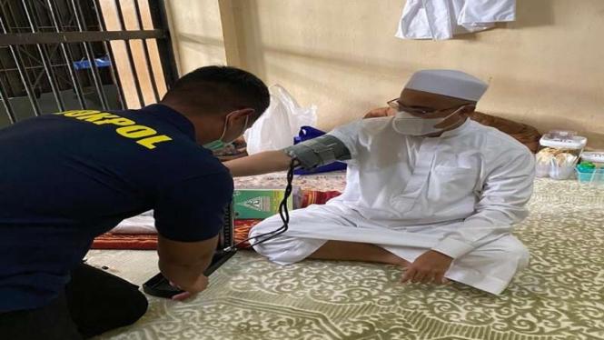 Habib Rizieq dilakukan pemeriksaan kesehatan secara rutin