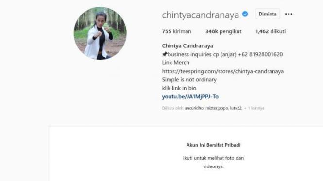 Instagram Chintya Candranaya