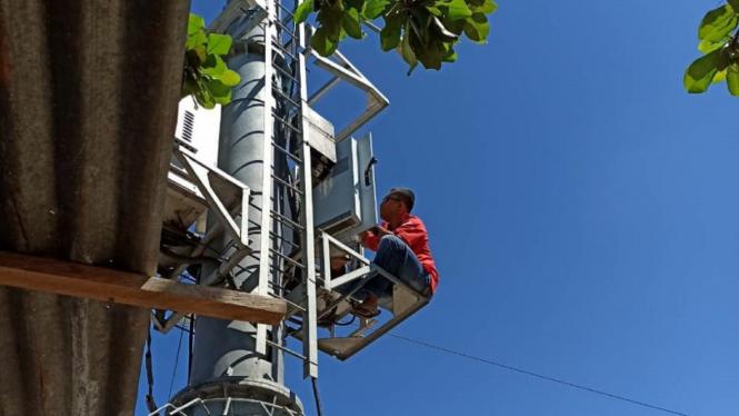 Terhubung Jaringan 4G LTE Telkomsel.