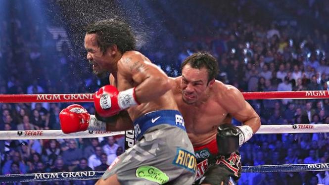 Duel Manny Pacquiao Vs juan Manuel Marquez