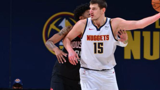 Pemain Denver Nuggets, Nikola Jokic.