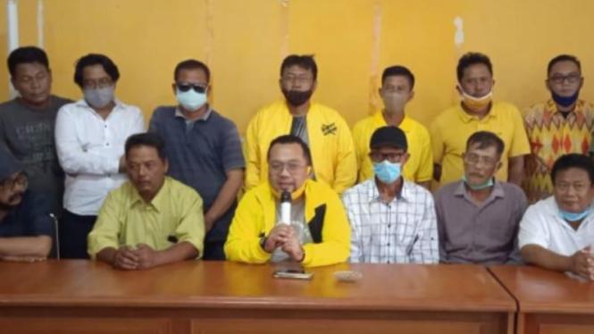 Para Ketua Pimpinan Kecamatan (PK) Partai Golkar se-Indramayu.