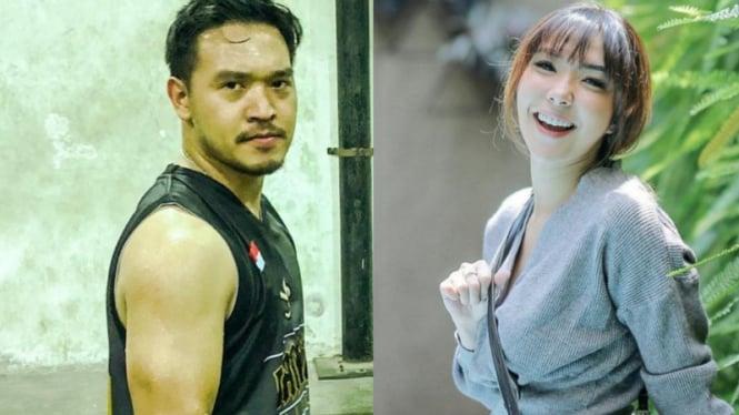 Michael Yukinobu de Fretes dan Gisella Anastasia.