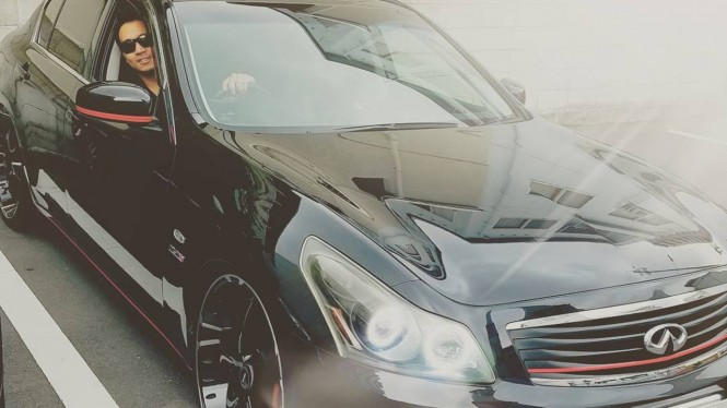 Michael Yukinobu de Fretes dan mobil Infiniti G35