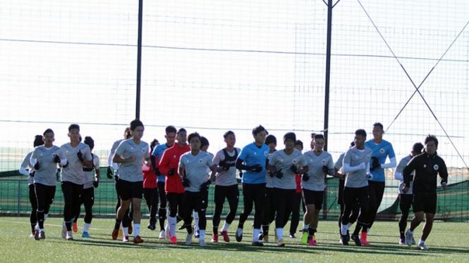 Timnas Indonesia U-19 pemusatan latihan di Spanyol