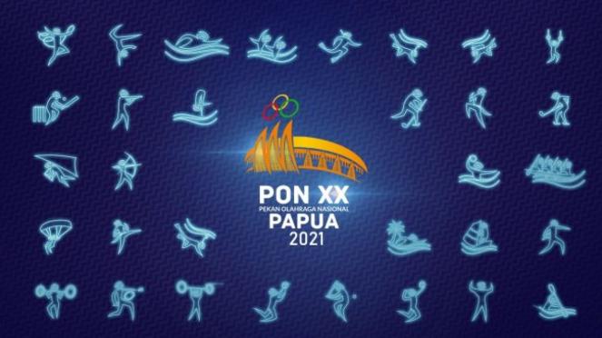 Piktogram cabang olahraga PON XX Papua 2021