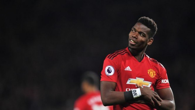 Gelandang Mancester United, Paul Pogba