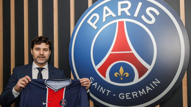 Pelatih baru Paris Saint-Germain (PSG) Mauricio Pochettino.