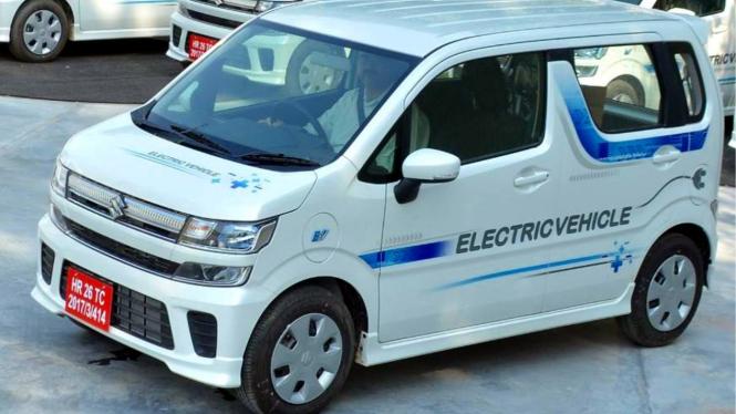 Mobil Listrik Suzuki Wagon R EV