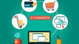 Ilustrasi e-commerce.