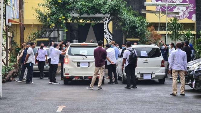 Rekonstruksi kasus penembakan laskar FPI di Komnas HAM