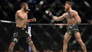 Duel Khabib Nurmagomedov versus Conor McGregor di UFC 229