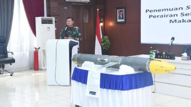 VIVA Militer: Kasal Laksamana TNI Yudo Margono ungkap misteri Drone Bawah Laut