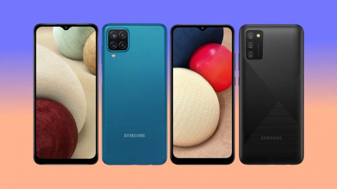 Samsung Galaxy A12 dan Samsung Galaxy A02s