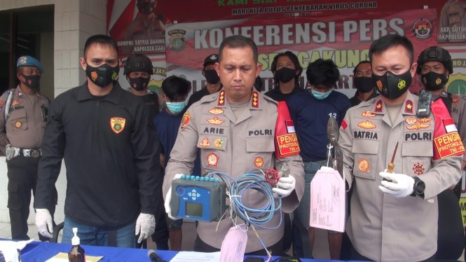 Polisi tangkap pencuri meteran gas di Cakung yang sebabkan kebocoran