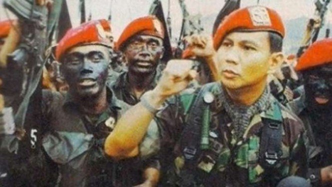 VIVA Militer: Letjen TNI (Purn.) Prabowo Subianto saat masih aktif berdinas
