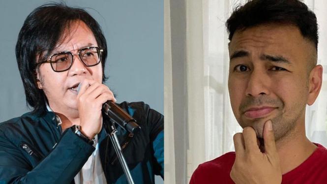 Ari Lasso dan Raffi Ahmad.