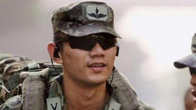 VIVA Militer: Mayor Inf (Purn.) Agus Harimurti Yudhoyono saat berdinas di TNI