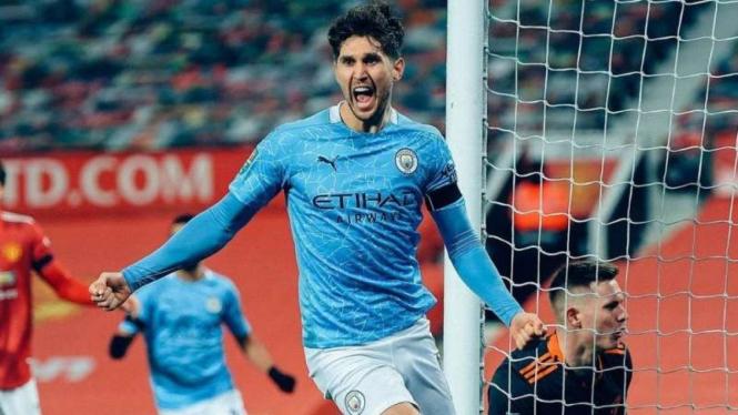 Pemain Manchester City, John Stones.