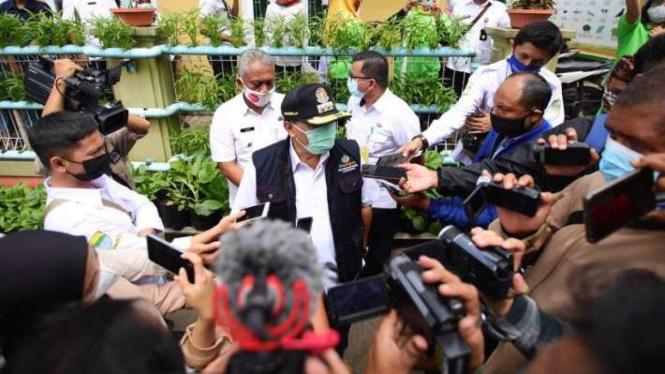 Wali Kota Bandung, Oded M Danial.